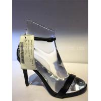 China Jolly mannequins-AF-2 Roger vivier use–Medium heel shoes display crystal acrlic shoes stand for heels for sale