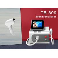 Buy cheap Portable Big Spot Size 808nm Depilaton Super Hair Removal Machine Input 12X12mm from wholesalers