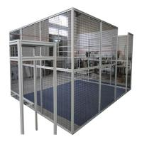 Wholesale Cnc Machine Protector Industrial Production Line Fence Cap Fixed Gear Aluminum Glass Door And Window Frame from china suppliers