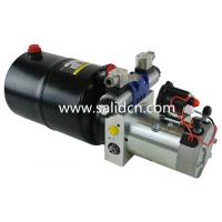 China 4 Solenoid Valve 12V DC Double Acting Modular Hydraulic Power Pack on sale
