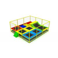 Wholesale Different Colors Trampoline Indoor Playground Big Diameter Galvanized Steel Pipe KP180528 from china suppliers