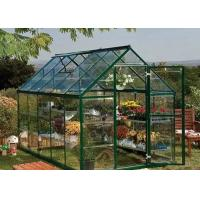 Wholesale Aluminium Extrustion Garden Box Greenhouse Drip Proof High Light Transmittance from china suppliers