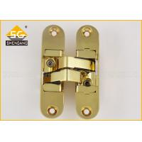 Quality 111.5 X 29mm 180 Degree Adjustable Concealed Hinge For Wooden Doors for sale