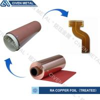 Wholesale RA COPPER FOIL--TREATED/USED FOR FPC/FCCL/THINCKNESS:12/18/25/35/50UM from china suppliers