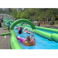 Wholesale Custom made outdoor giant inflatable the city water slide for summer water game fun from Sino Inflatables from china suppliers