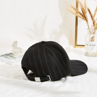 Wholesale Black 50cm Embroidered Baseball Caps With Metal Buckle from china suppliers