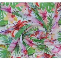 China Polyester 75D chiffon printed fabric for dress, garment, width 57/58 on sale