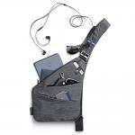China NIID-FINO Classic Sling Shoulder Crossbody Chest Bag Slim Backpack Multipurpose Daypack for sale