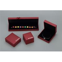 Wholesale Plastic Struction  Jewelry Display Box Set In Recycled Leatherette Paper from china suppliers
