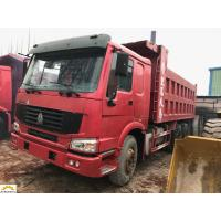 Wholesale 6x4 Second Hand Dumper Truck 2nd Hand Tippers Howo 336 With 10 New Tyres from china suppliers