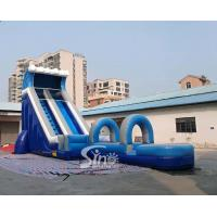 Wholesale Commercial outdoor hot sale inflatables water slide for the water park from Sino factory from china suppliers