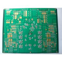 China 4Layer Entertainment Systems Audio Amplifier PCB , Quick Turn PCB Fabrication on sale