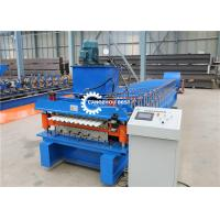 China Double Layer Roofing Sheet Roll Forming Machine Popular Design YX686/ YX762 for sale