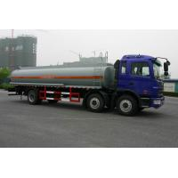 Heavy Duty Oil Tank Truck 6x2 JAC / Fuel Tanker Truck With CA6DF3-18E3