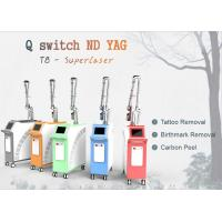 Buy cheap 1064 / 1320 / 532 Q Switch Nd Yag Laser Machine For Tattoo Removal / Pigment Removal from wholesalers
