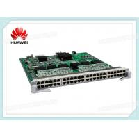 Wholesale Huawei LE0DG48VEA00 48 Port 10 / 100 / 1000BASE-T POE Interface Card EA RJ45 POE from china suppliers