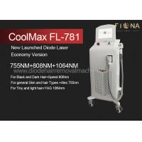 Multi Wavelength Professional Laser Hair Removal Equipment With ISO13485 for sale