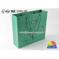 Matt Laminated Custom Eco Friendly Paper Gift Bags For Health Care Product for sale