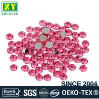 Loose Ss10 Hotfix Rhinestones Glass Material For Nail Art / Home Decoration