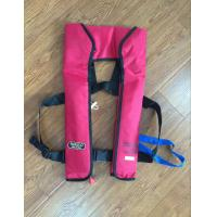 Quality 275N double chamber inflatable life jacket with light SOLAS approved for sale
