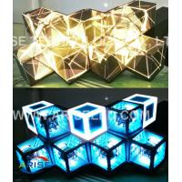 Wholesale Creative LED Displays Led Stage Screen-DJ screen/LED DJ booths/ LED Diamond-P4-3.786 from china suppliers