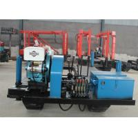 Hydraulic Feeding Track Mounted Drill Rig , XY-2 Mobile Water Well Drilling Rigs