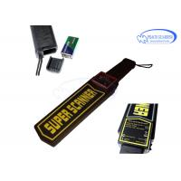 Wholesale Body Security Check Handheld Metal Detector With High Sensitivity / Alarm System from china suppliers