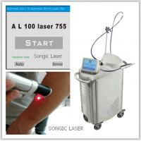 China Hair Depilation 755 Nm Alexandrite Laser pigment removal for hospital for sale