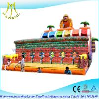 China Hansel Combinated Indoor Inflatable ball pitching machine for amusement park on sale