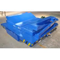 China Precise pipe industry cable drum operated rail coil transfer cart with cast  wheel on sale