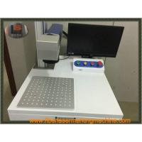Fiber Laser Marking Machines 20w Mopa Laser  For Alumina