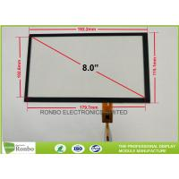 China Touch Screen Projected Capacitive Touch Panel 8.0 Inch High Transmission Controller GT911 for sale