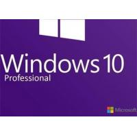 Wholesale Valid Windows 10 Pro Product Key 64 Bit , Windows System Builder 100% Unused from china suppliers
