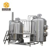 Wholesale Industrial Craft Beer Brewing Equipment 1000L Conical Fermenters Steam Heating from china suppliers