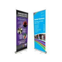 Wholesale Innovative Advertising Stand Up Banners Convenient To Transport Attractive Easy Carry from china suppliers