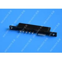 China Compact 22P 125V AC SATA Data Connector , PCB SATA Female Connector on sale