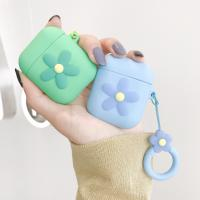 China For Airpods Silicone Case Cover Compatible for Apple Airpods 1&2 [Cute Design][Best Gift for Girls or Couples] on sale
