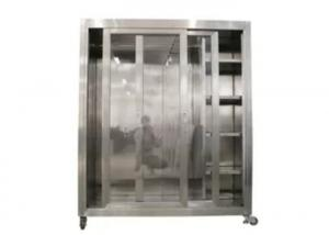 Wholesale Static 1500*750*1800mm Garment Cubicle Assembly / Clean Room Dress Cabinet from china suppliers