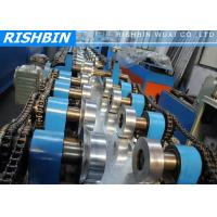 Best 20 KW C Z Channel Purlin Roll Forming Line with 12 - 14 m / min Carbon Steel wholesale