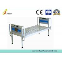 Wholesale Electronic Powder Coated Simple Medical Hospital Beds Steel Frame Flat bed (ALS-FB001) from china suppliers