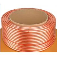 Buy cheap ASTM B111 C44300 , C68700 Brass Tube For Condenser And Cooling Applicaton from wholesalers