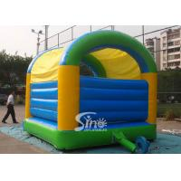 5x4 mts outdoor Let's party kids inflatable bouncy castle made with 610g/m2 pvc