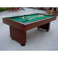 Attractive Billiards Game Table Solid Wood Full Size Pool Table For Tournament
