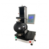 Wholesale GB24429 PLC Touch Screen Helmet Stiffness Performance Tester 0 ~ 2000N from china suppliers