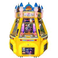 Wholesale 6 Players Dream Castle Pinball Game Machine Coin Pusher Metal + Acrylic + Plastic Material from china suppliers