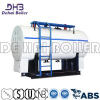 China 4000kg/H Package Steam Boiler Horizontal Coal Fired Units Natural Circulation for sale