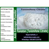 Buy cheap Anti Estrogen Steroids Raw Powder Fareston (Toremifene Citrate) Selective from wholesalers