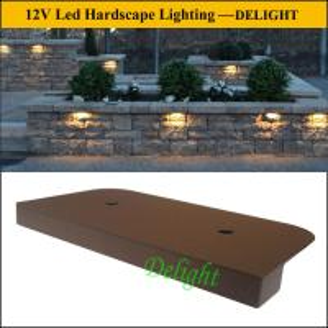 Warm White LED Stair Light, Low Voltage 12V Led Deck And Step Lighting,LED Hardscape Light
