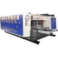 Wholesale High Speed Flexo Printing Slotting / Die Cutting Machine Three Color from china suppliers
