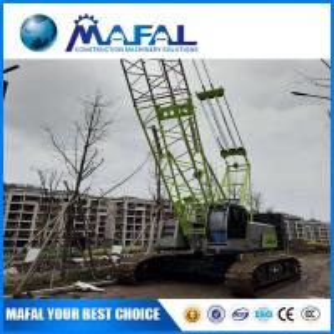 China MAFAL High Quality 50t jib  telescopic mini Crawler Crane Zcc550h made in china on sale